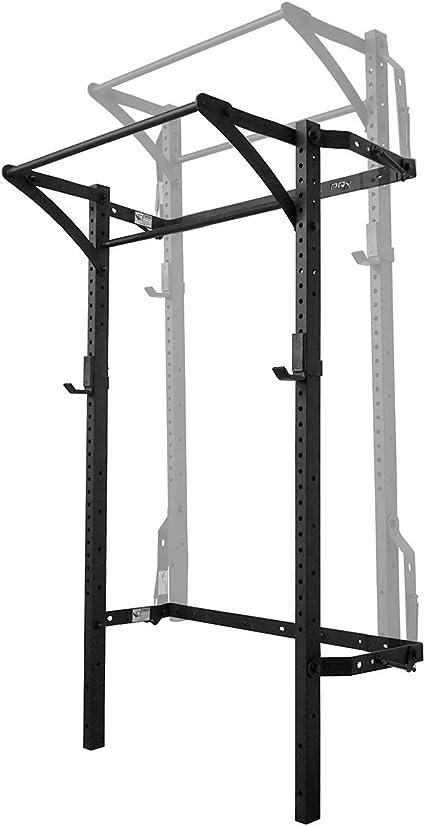 Amazon.com : PRx Performance Murphy Rack Fold Up Squat Rack (Textured Black Powder Coat) : Sports & Outdoors