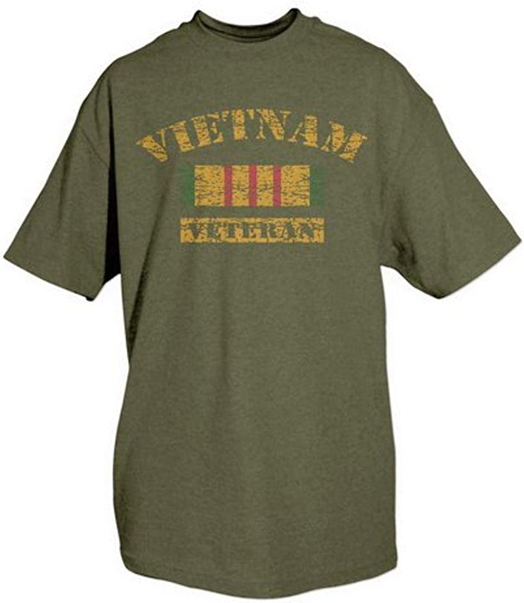 Fox Outdoor Products Themed One-Sided Imprinted Vietnam Vet T-Shirt