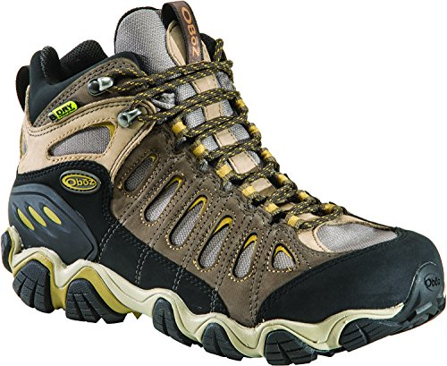 (Oboz Sawtooth Mid BDry Hiking Boot - Men's Olive)