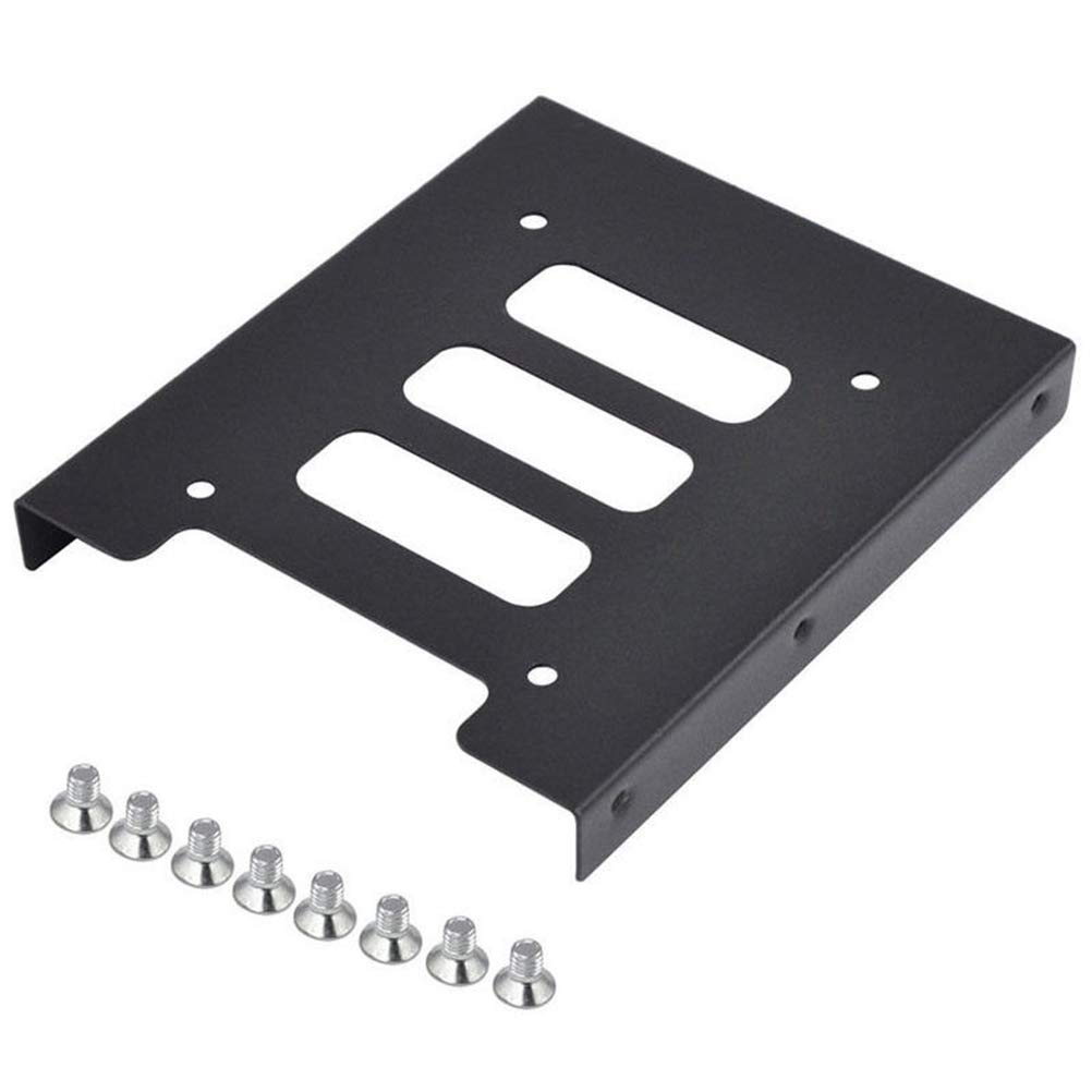 CLIENSY 2.5'' to 3.5'' SSD HDD Metal Adapter Mounting Bracket Hard Drive Holder for PC by CLIENSY (Image #1)