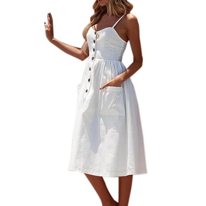VENMO Vestidos Mujer,Mujer Verano Vestir Ropa,Mujees Vestidos de Playa, Vestido Sexy