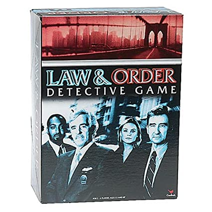 amazon com law and order game toys games