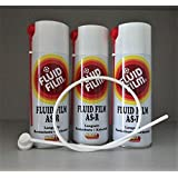3x Fluid Film AS-R 400 ml Sprühdose + 1 Sonde 60cm Set