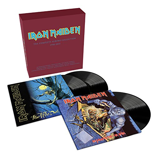 The Complete Albums Collection 1990 - 2015 (Limited Edition, 2 Album / 3-LP Set) (Iron Collection Maiden)