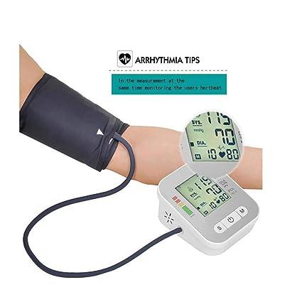 Monitor de presión arterial medidor de presión arterial del brazo del tensiómetro automático del sphygmomanometer con