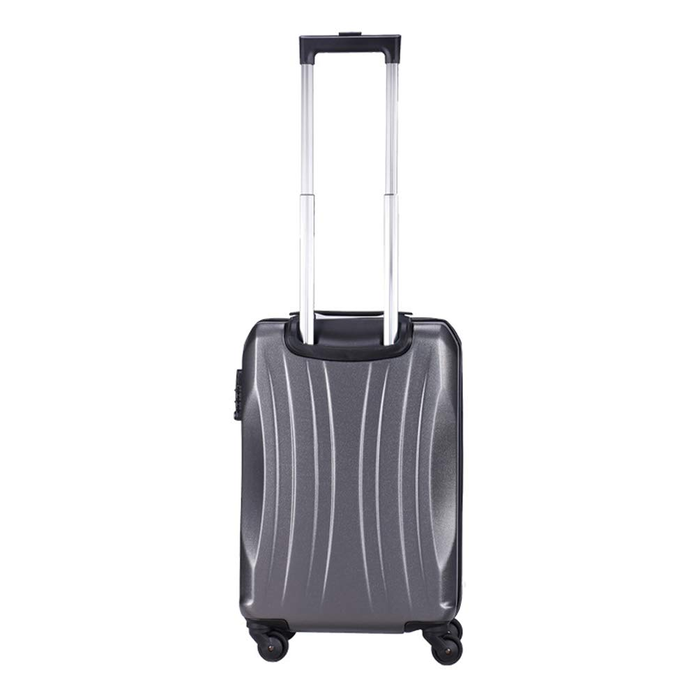 Amazoncom Ultra Lightweight Abs Hard Shell Suitcase Rigid And
