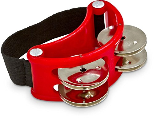 Latin Percussion LP188 Foot Tambourine from Latin Percussion
