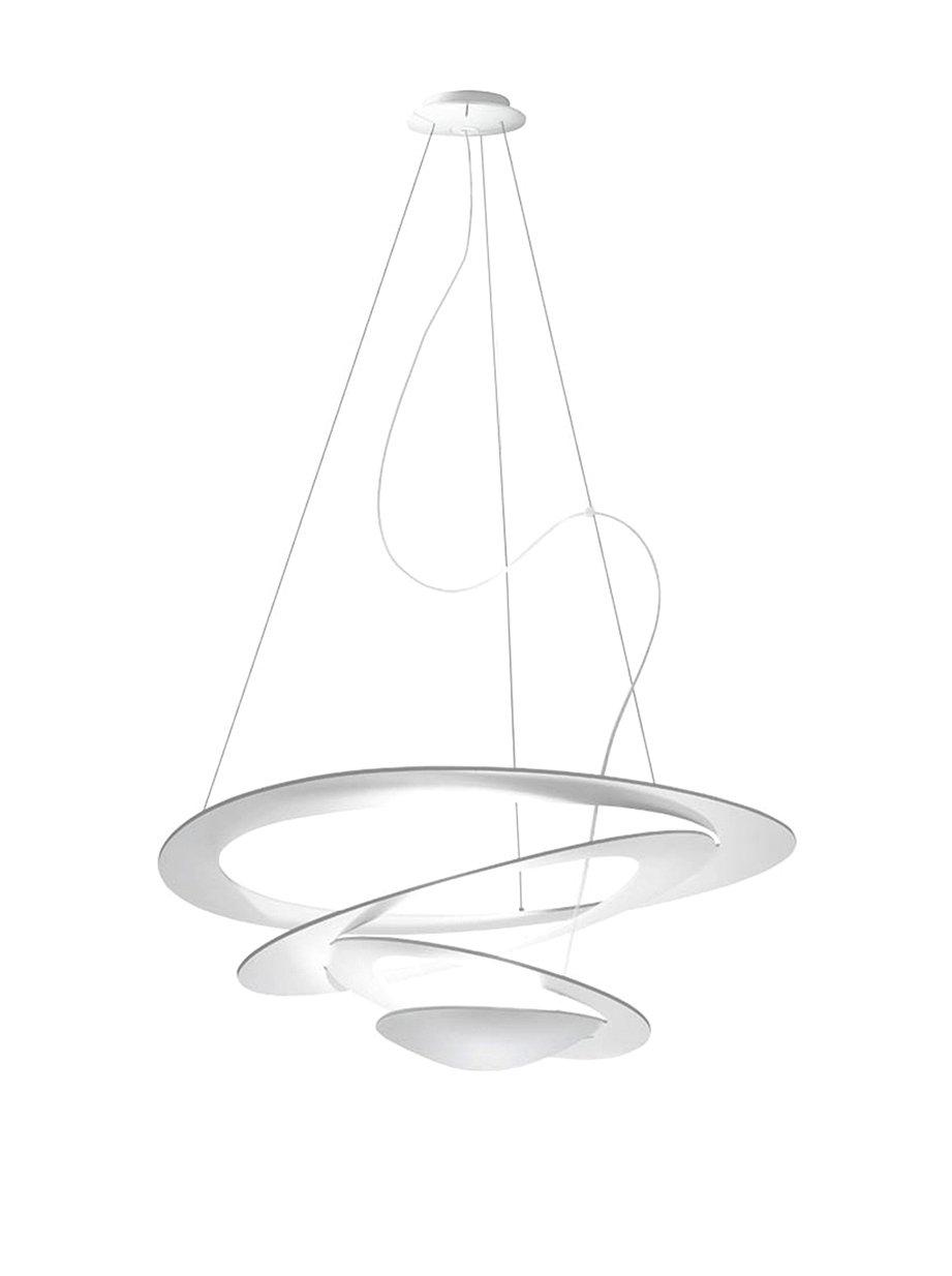 Artemide Pirce Mini Halo Sospensione, Alluminio, Bianco: Amazon.it ...