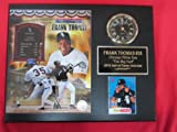 Frank Thomas 2014 HALL OF FAME Collectors Clock Plaque w/8x10 Photo and Card