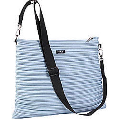 BAM Bags Women's Bakpack/Messenger Bag Nylon Powder Blue One Size - Bam Bags Handbag