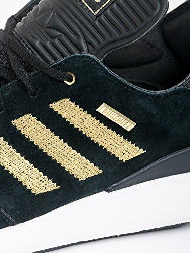Herren Skateschuh adidas Skateboarding Busenitz Pure Boost 10 YR Anni Skateschuhe core black/gold metallic/ftwr white