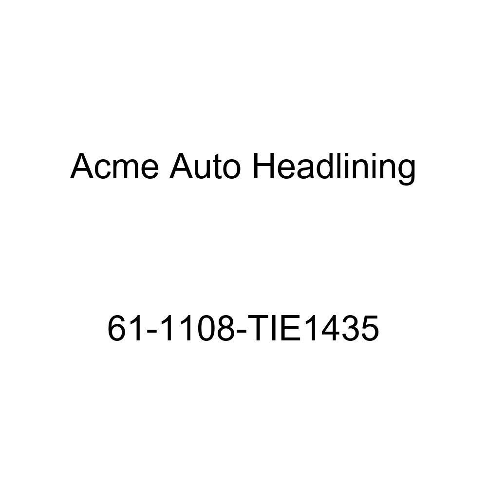 Acme Auto Headlining 68-1108-TIE770 Black Replacement Headliner Buick Electra 225 4 Door Sedan w//Original Bow Headliner 6 Bow