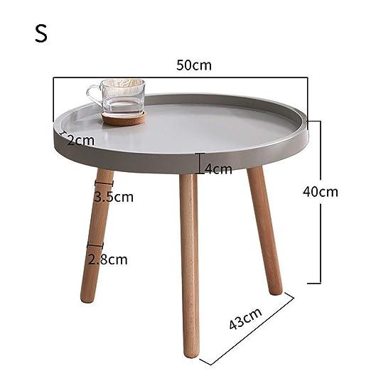 Mesa de centro redonda Casual Rectangular Modern Coffee Table Desk ...