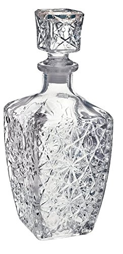 Bormioli Rocco Dedalo 26.4 oz. Decanter with Stopper Bormioli Rocco Glass Co. Inc. 284490GQ1021990