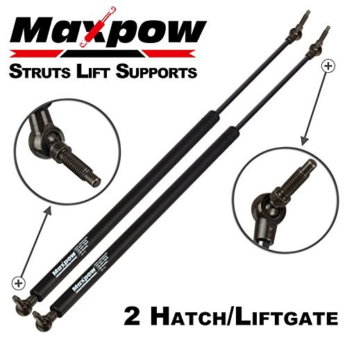 Maxpow 2Pcs 4535 Rear Liftgate Tailgate Hatch Lift Supports Struts Fits For 2001-2007 Chrysler Town & Country, 2001 2002 2003 Chrysler Voyager, 2001-2007 Dodge Caravan, 2001-2007 Dodge Grand (Rear Gate)