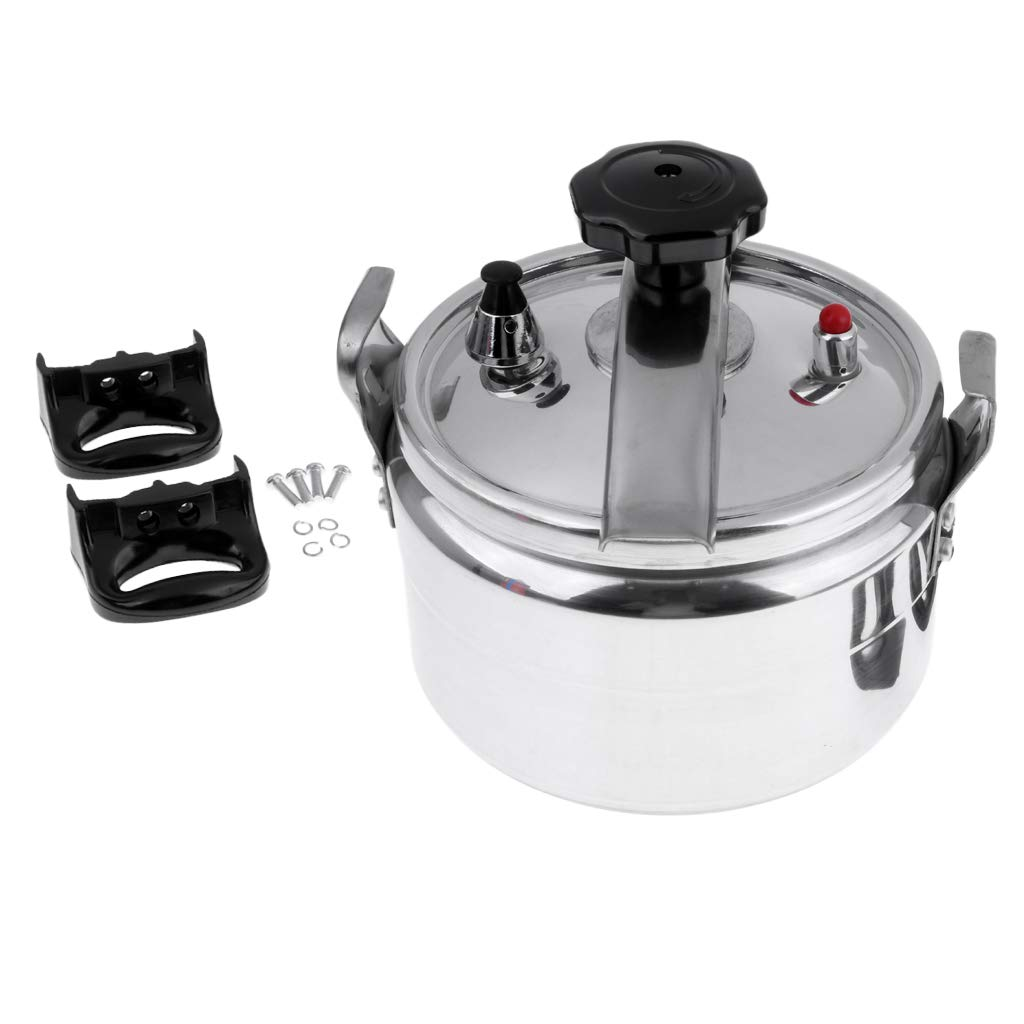Baosity 4L Outdoors Hard Anodised Aluminum Pressure Cooker Camping Hiking Cookware