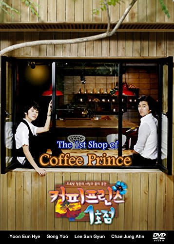 Coffee Prince - Korean Drama (4DVD Value Pack, Complete - 17 Episodes) All Region with English - Bits Coffee