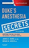 img - for Duke's Anesthesia Secrets, 5e by James Duke MD MBA (2015-04-20) book / textbook / text book