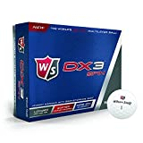 2016 Wilson DX3 Soft Urethane Tour Spin Performance Golf Balls - Dozen White