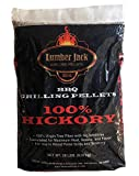 Lumber Jack 100% Hickory BBQ Grilling Pellets – 20 lbs.