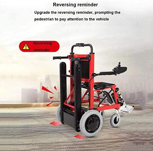 La silla de ruedas eléctrica plegable puede subir escaleras ...