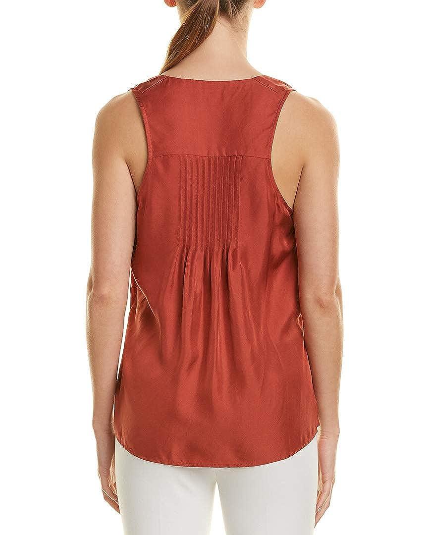 Pink 2 Reiss Womens Jorja Silk Top