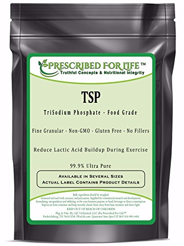 TriSodium Phosphate Anhydrous (TSP) - US Food Grade Granular, 50 lb by Prescribed For Life (Image #1)