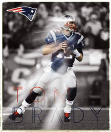 - FATHEAD Tom Brady New England Patriots Official NFL Vinyl Wall Graphic 18
