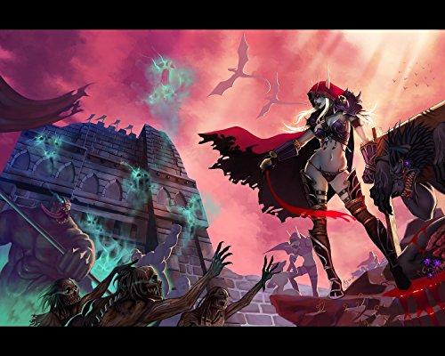 world of warcraft sylvanas poster