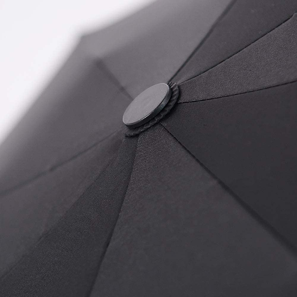 JINPAI Automatic Eight Bone Five Folding Umbrella Ultra Light Mini Umbrella Men Women Simple Lightweight Folding Rain Dual-Use Portable