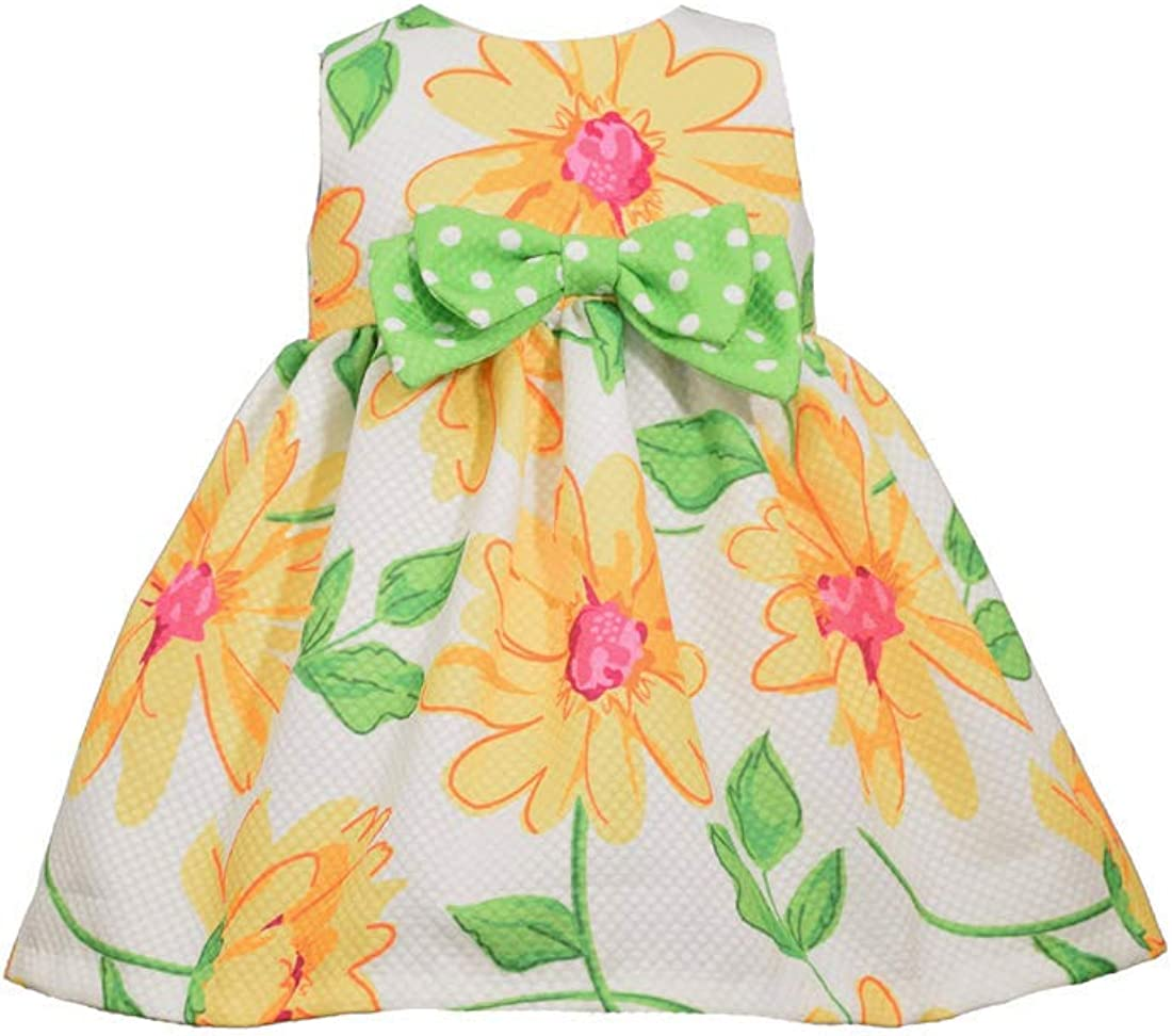 Bonnie Jean Easter Dress Spring Daisy Dress for Baby Toddler and Little Girls