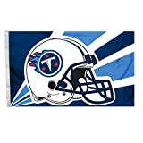 Fremont Die NFL Tennessee Titans 3-by-5 Foot Helmet Flag