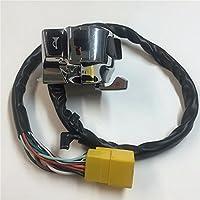 Chrome LEFT+RIGHT Switch Fit for Suzuki GSX-R600//GSX-R750//GSX-R1000//TL1000//Hayab