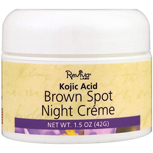 Reviva Labs, Brown Spot Night Creme, 1.5 oz (42 (Spot Brightener)