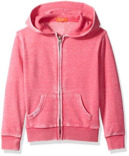Butter girls Fleece Zip Up Hoodie (More Styles Available) beetroot purple, 4