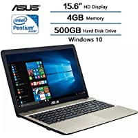 Asus VivoBook Max Laptop 15.6 (1366 x 768) HD Display,Intel Pentium N4200, 4GB RAM, 500GB HDD, Intel HD Graphics 500, Windows 10