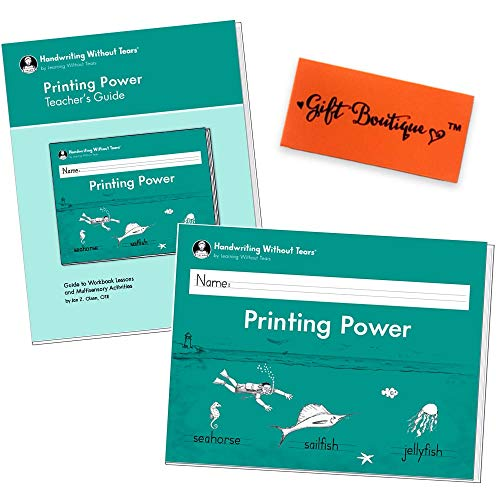 Handwriting Without Tears My Printing Book (Printing Power Book + Teacher