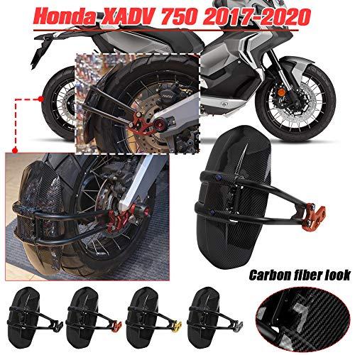 Lorababer Motorfiets Spatbord, Achterspatbord Band Hugger Spatbescherming Omslag Geschikt voor Honda XADV-750 X-ADV 750…