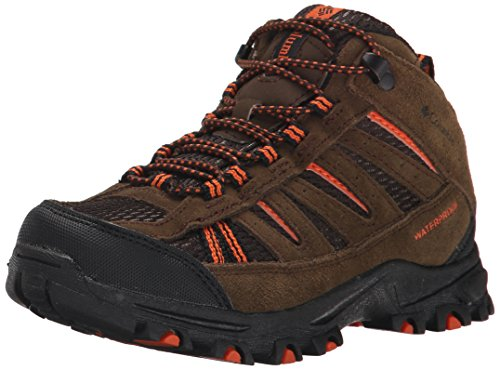 Columbia CHILDRENS PISGAH PEAK MID WATERPROOF - botas de senderismo de piel Niños^Niñas marrón - Braun (Mud 255)