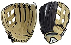 """13"""" pattern, H web, open back and deep pocket designed for outfielders. Great for softball. Born to meet the desire of players looking for the distinct advantage of a game-ready glove, the ProSoft Series is Akadema's newest innovation. Light ..."""