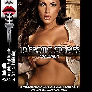 10 Erotic Stories, Volume 4 Audiobook