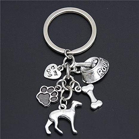 Amazon.com: YPT - Cadenas para llaves de perro, hueso de ...