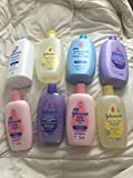 JOHNSON'S & JOHNSON'S baby LOT huge POWDER, WASH, LOTION, BUBBLE BATH