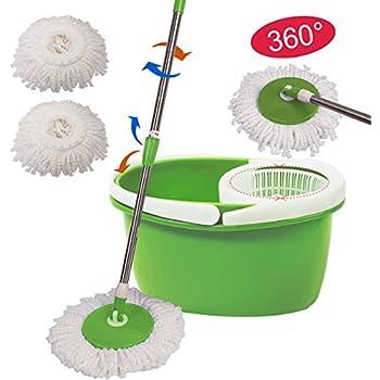 Amazon Com 360 176 Rotating Head Easy Magic Floor Mop Bucket
