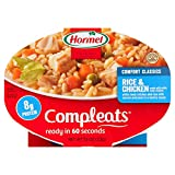 chicken and rice bowl - Hormel Compleats Chicken & Rice,10-Ounce Microwavable Bowls (Pack of 3)