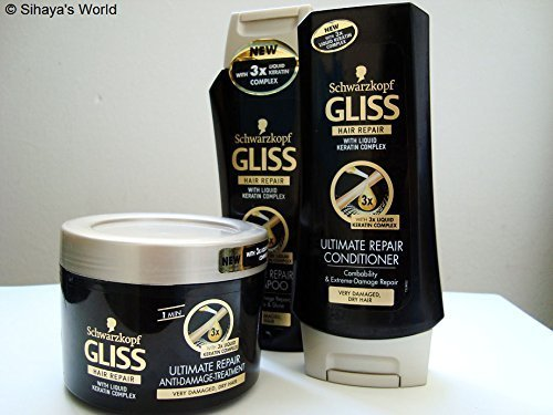 Schwarzkopf Gliss Ultimate Repair Shampoo 400 ML + Conditioner 400 ML