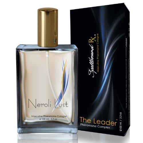 'THE LEADER' Masculine Pheromone Cologne with the 'NEROLI LUST' Fragrance From SpellboundRX - The Intelligent Pheromone Choice