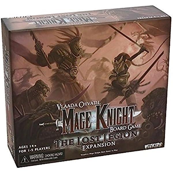 Mage Knight Lost Legion - Expansión de juego de mesa (en inglés): Mage Knight Lost Legion Expansion: Amazon.es: Juguetes y juegos
