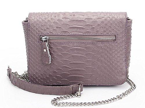 Cuir Purple Mesdames Bandoulière Mode Sacs Multifonctionnel Messenger à Main Voyage Sacs Véritable Sacs à 8O8Sa