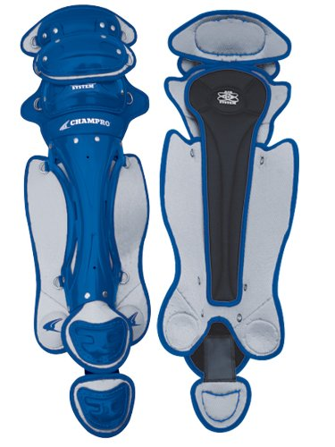 (Champro Pro Plus 3 Knee Leg Guard (Royal, 16.5-Inch))